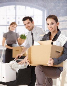Businesspeople-moving